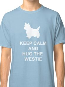 Keep Calm Westie Hoodie Classic T-Shirt