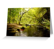 Hebden Water Greeting Card