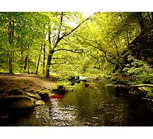 Hebden Water Photographic Print