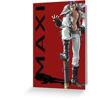 Maxi 3 Greeting Card