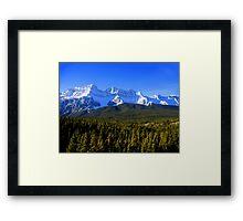 Rocky Mountain Way Framed Print