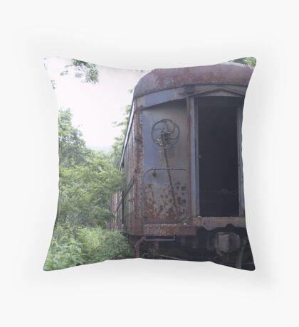 Box Car Throw Pillow