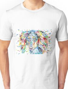 WATERCOLOR SALUKI Unisex T-Shirt