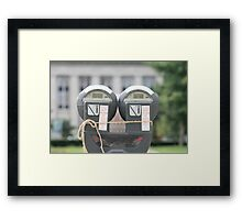 One Hour Limit Framed Print