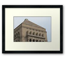 Memorialized Framed Print