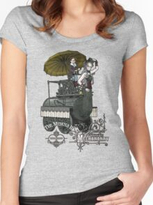 Mechananny Women's Fitted Scoop T-Shirt