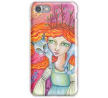 The Cat Woman iPhone Case/Skin