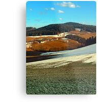Scenic view below the Bohemian Forest | landscape photography Metal Print