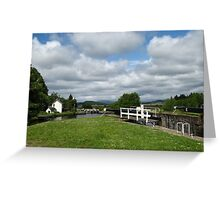Crinan Canal, Scotland ~ Straight from the Camera Greeting Card