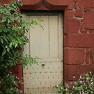 A cottage door by Charlotte Jarvis