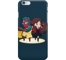 The Vision and the Scarlet Witch iPhone Case/Skin