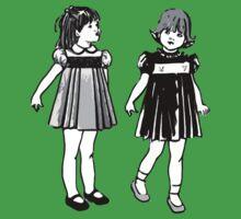 RETRO GIRLS CUTE by SofiaYoushi