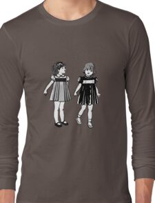 RETRO GIRLS CUTE Long Sleeve T-Shirt