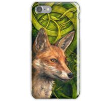 Bold Undaunted Fox iPhone Case/Skin