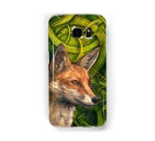 Bold Undaunted Fox Samsung Galaxy Case/Skin