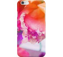 old withering rose rainbow flower iPhone Case/Skin