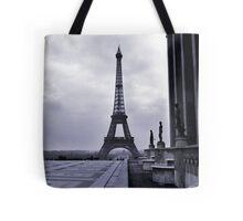 Eifel Tower, Winter 1945 Tote Bag