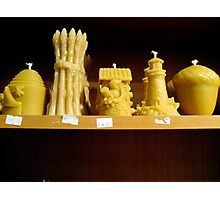 Beeswax Candles Photographic Print