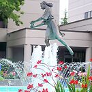 WATER FOUNTAIN OF A LADY by MsLiz