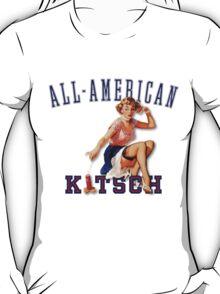 The Kitsch Bitsch : All-American Kitsch Pin-Up T-Shirt
