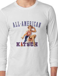 The Kitsch Bitsch : All-American Kitsch Pin-Up Long Sleeve T-Shirt
