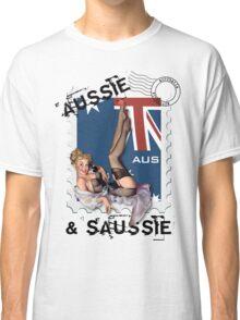 The Kitsch Bitsch : Aussie & Saussie Pin-Up Classic T-Shirt