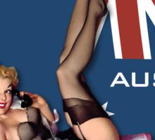 The Kitsch Bitsch : Aussie & Saussie Pin-Up Sticker