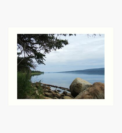 Cape Breton - Bras D'or Lake Art Print