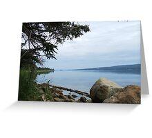 Cape Breton - Bras D'or Lake Greeting Card