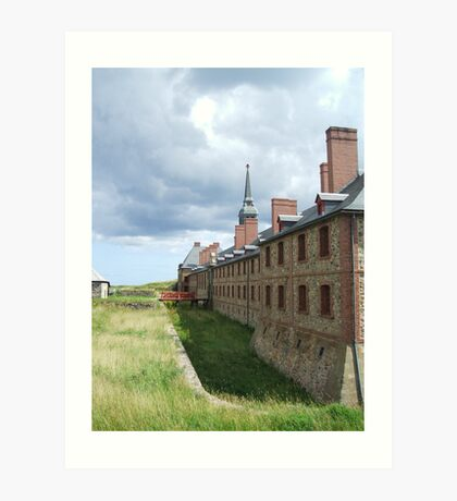 Cape Breton - Fortress Louisburg Art Print