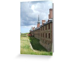 Cape Breton - Fortress Louisburg Greeting Card