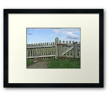 Cape Breton - Fortress Louisburg Framed Print
