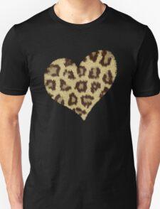 Heart Jaguar Print Long Sleeve Shirt T-Shirt