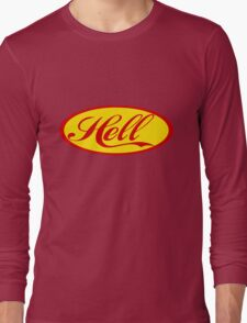 HELL JESUS CHRIST Long Sleeve T-Shirt