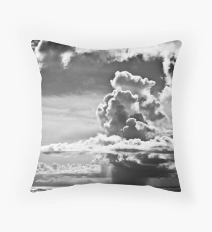 Philippine Rain Throw Pillow