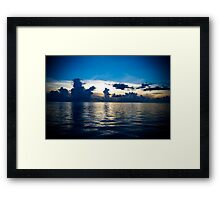 The Blue Philippine Framed Print