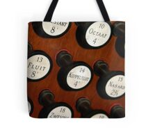 Organ Buttons Tote Bag