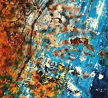 Ship To Shore ~ Abstract by Alixzandra