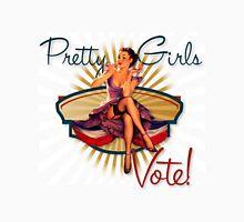 The Kitsch Bitsch: Pretty Girls Vote! Womens Fitted T-Shirt