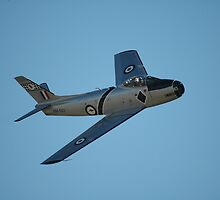 The Sabre Is Back, Temora Airshow, Australia 2009 by muz2142