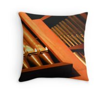 Seattle Organ Throw Pillow