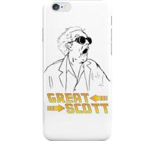 BTTF Great Scott iPhone Case/Skin