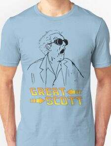 BTTF Great Scott T-Shirt