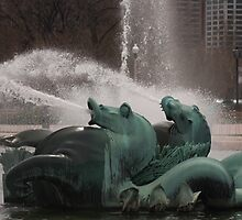 Chicago Fountain by J. Hayes
