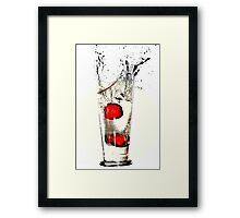 Red Sea, Black Sea Framed Print