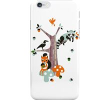 Friends of the forest iPhone Case/Skin