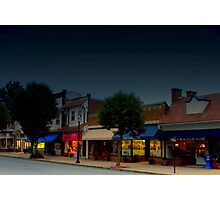 Spring Lake Main Street  Photographic Print