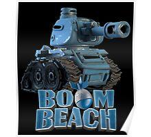 Tank BOOM BEACH Poster