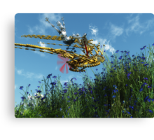 Robort's Flying Machine Canvas Print