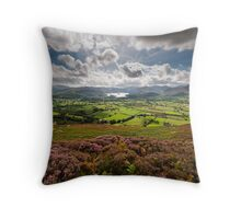 From Skiddaw to Keswick Throw Pillow